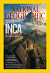 Link to National Geographic         magazine's April 2011, table of contents